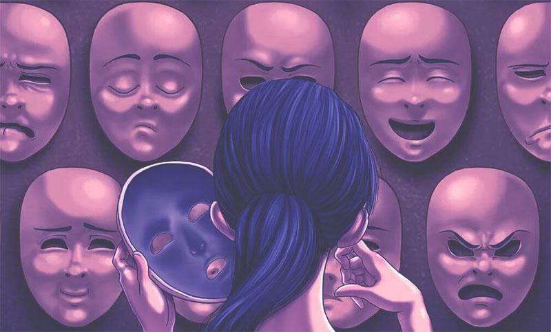 Diferentes Mascaras de Personalidad